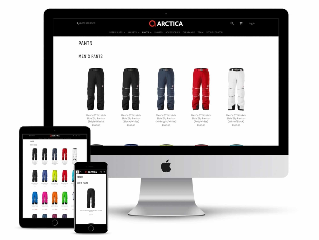 arctica web design