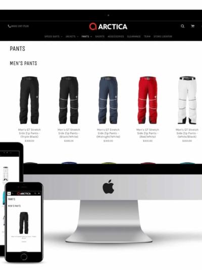 arctica web design