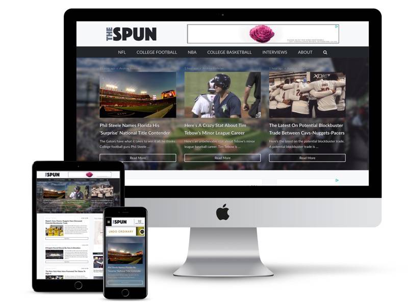 the spun web design