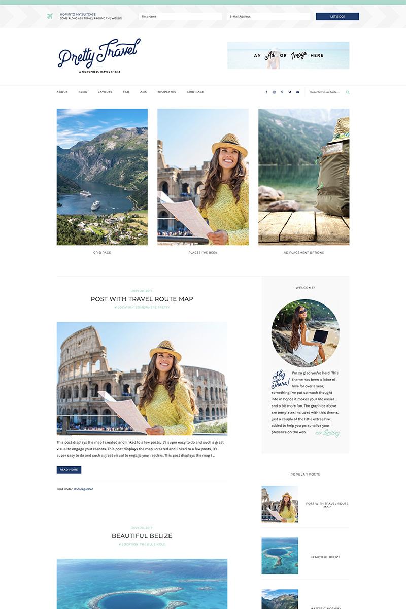 Pretty Travel WordPress Theme