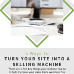 pinterest image for five-ways-turn-site-selling-machine