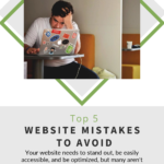pinterest image for top-5-website-mistakes