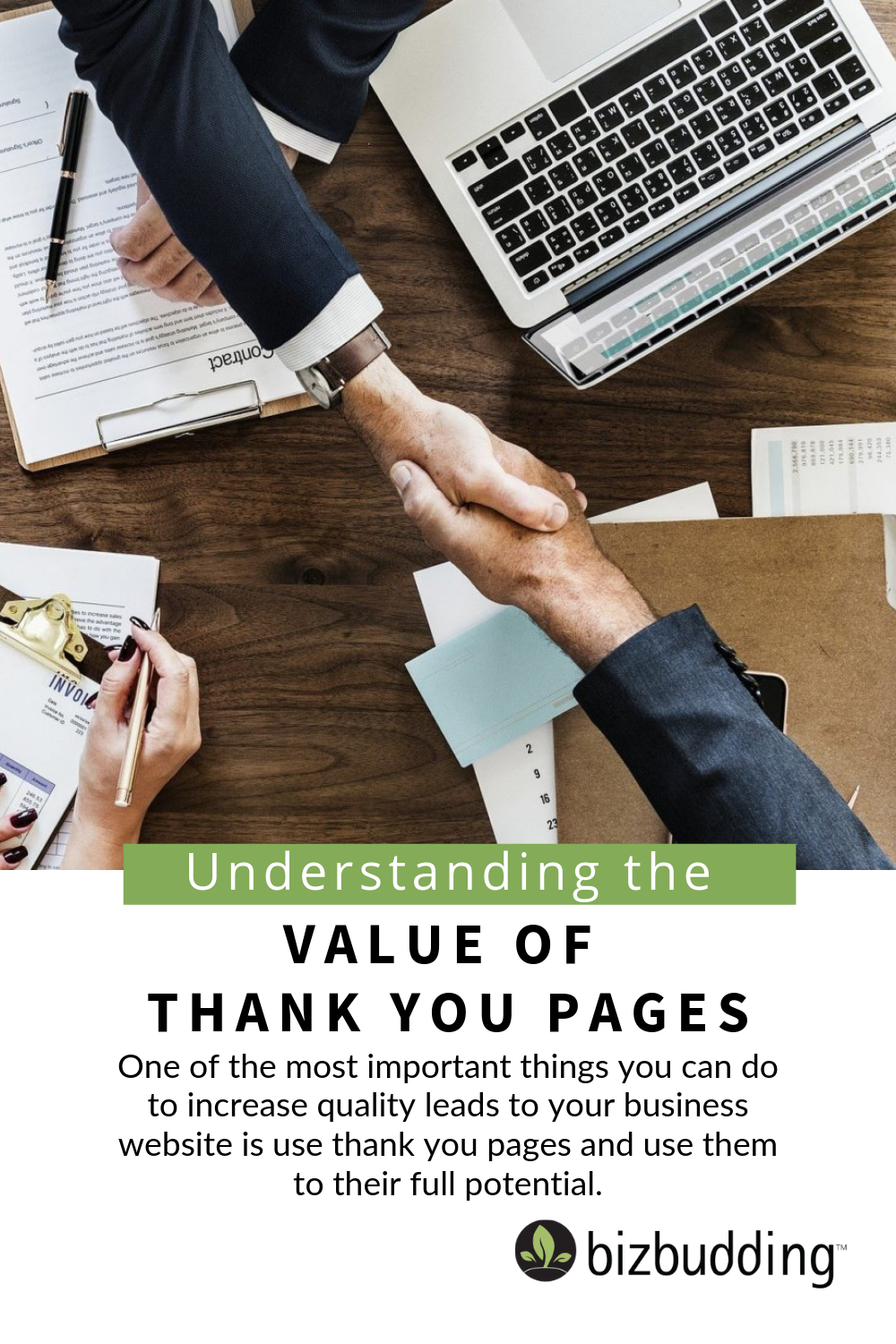 pinterest image for understanding-value-thank-you-pages