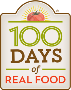 100 Days of Real Food logo