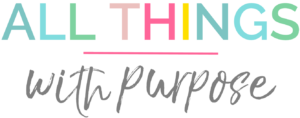All Things with Purpose logo