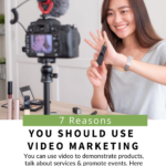 pinterest image for reasons-use-video-on-website
