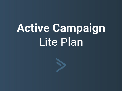 Active Campaign Lite Plan