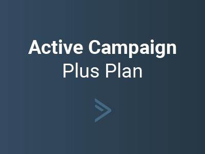 Active Campaign Plus Plan