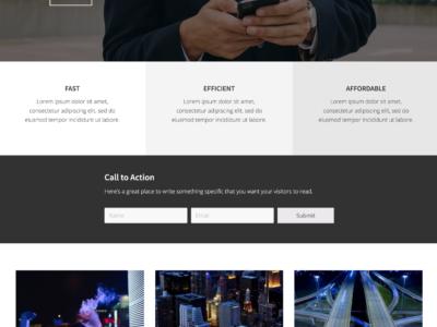 Demo image of Mai Business Theme home page