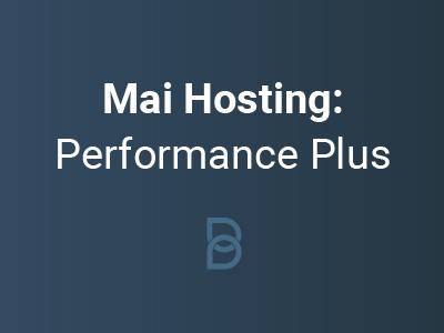 Mai Hosting: Performance Plus