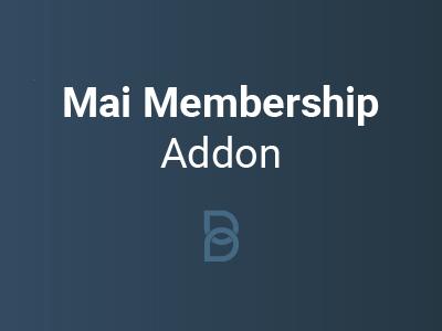 Mai Membership Addon