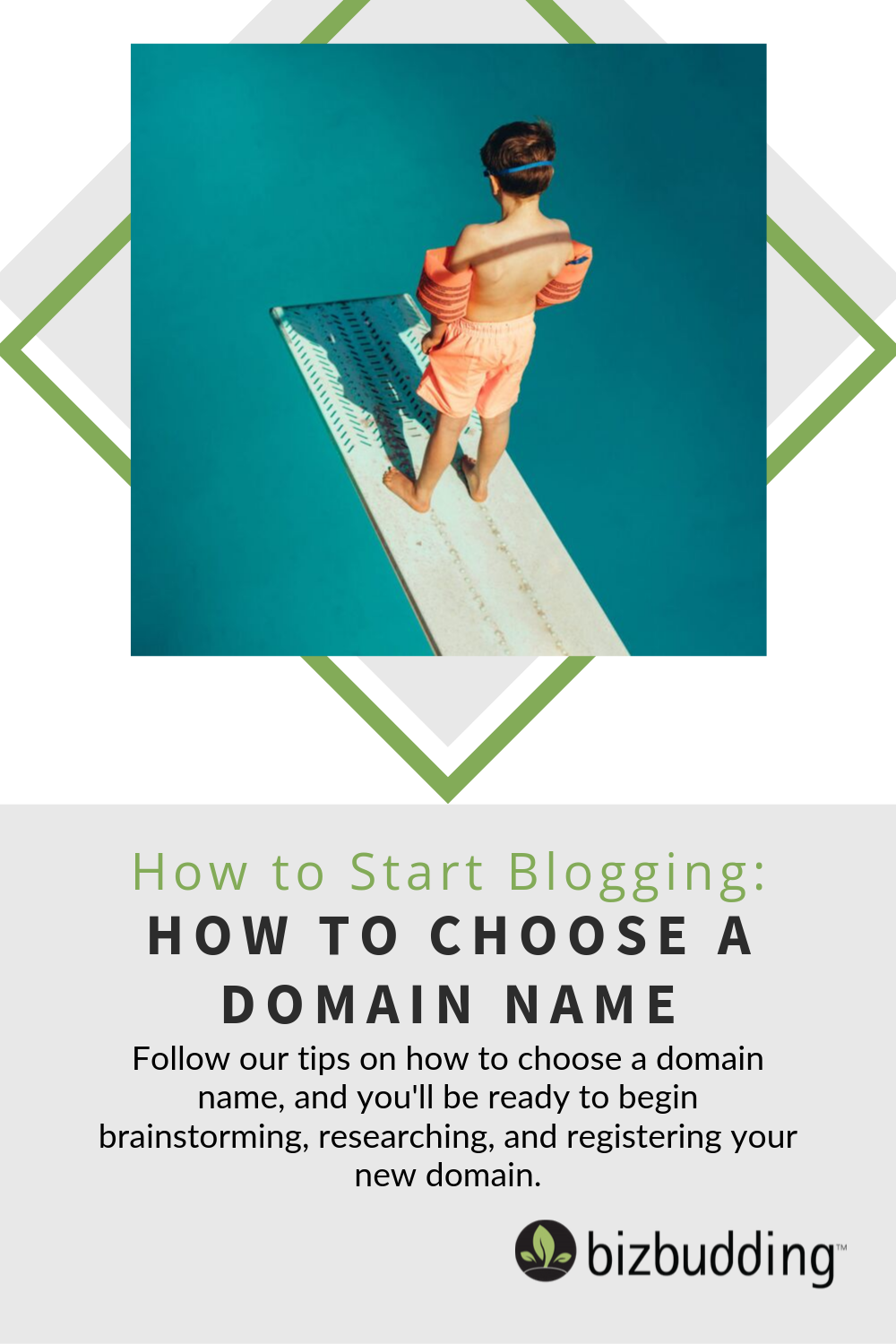 How To Choose A Domain Name Pinterest Pin Image