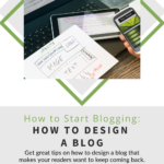 How to Design a Blog Pinterest Pin Image