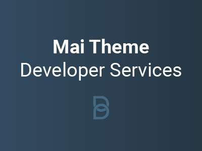 Mai Theme Developer Services