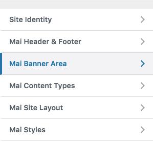 Mai Banner Area screen image