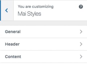 Mai Styles screen image