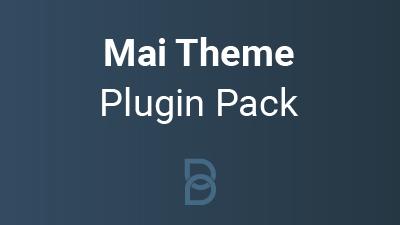Mai Theme Plugin Pack