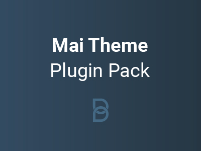 Mai Theme Plugin Pack