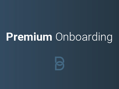 Premium Onboarding