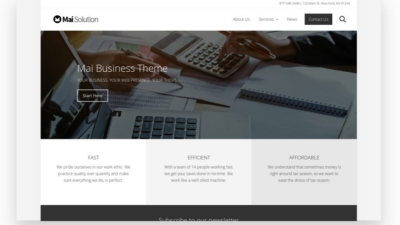 Image of Mai Business Solution theme demo