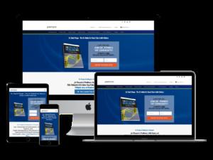 screenshot of Dr Pompa web design