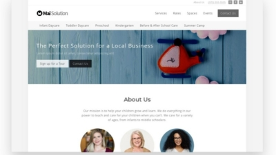 Image of Mai Local Business Solution theme demo