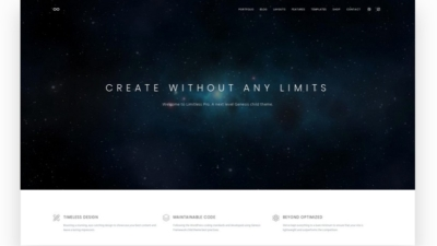 Image of Limitless Pro demo site