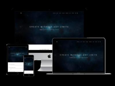 Limitless Pro Theme mockup image