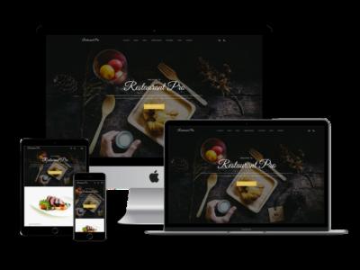 Restaurant Pro Theme mockup image