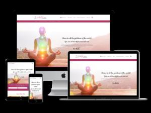 holisticketogoddes.com website showcase