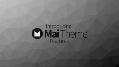 "video thumbnail for a Mai Theme vimeo ""Introducing Mai Theme Features"""