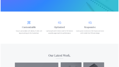 Mai Studio Agency theme for WordPress