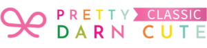 Pretty Darn Cute Classic Themes Logo
