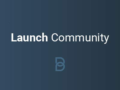 Launch Community product logo