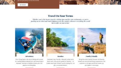 Mai Inspire Travel Theme Mockup