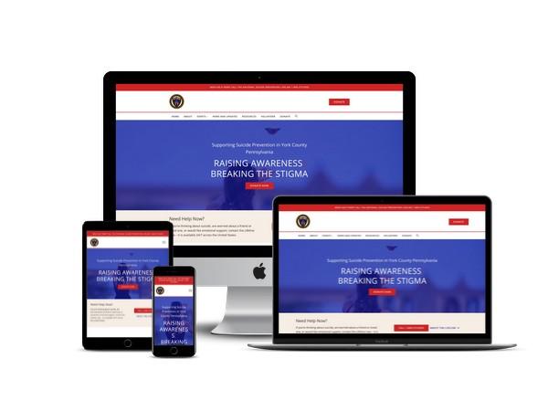The Bartz Brigade website mockup displayed on a desktop, laptop, tablet, and mobile phone