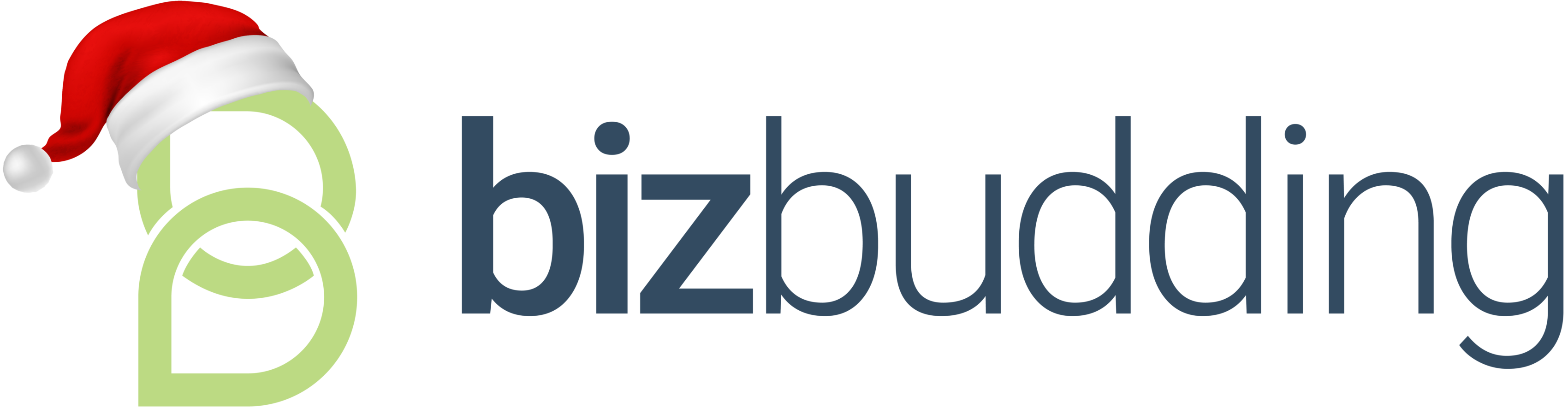 BizBudding Christmas Logo