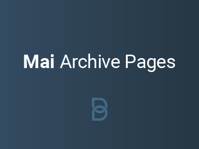 product image for Mai Archive Pages plugin