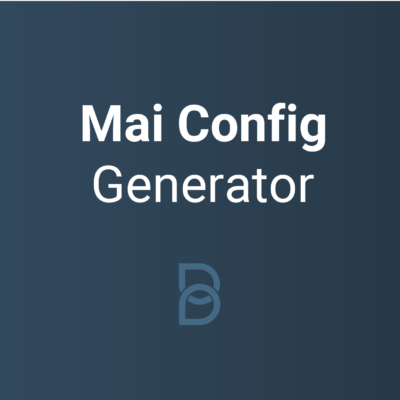 Mai Config Generator logo