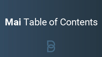 product photo for Mai Table of Contents plugin