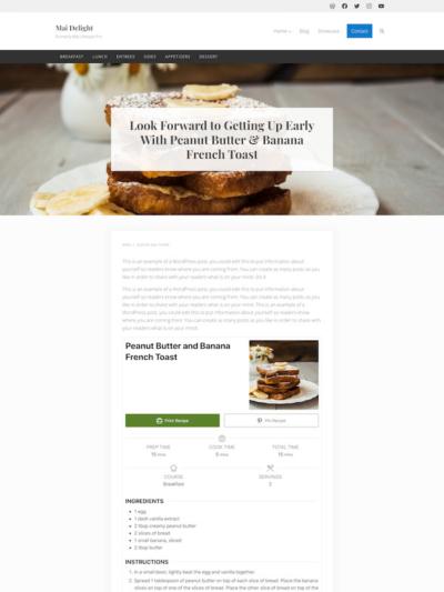 Demo Image of a Mai Delight Recipes blog post
