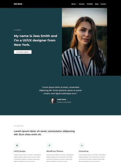 Demo Image of a Mai Sleek business page