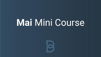 Mai Mini Course logo