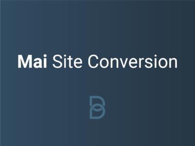 Mai Site Conversion Product Image